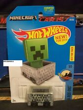 HOT WHEELS 2016 #70 -1 MINECRAFT AMER RIDE ONS