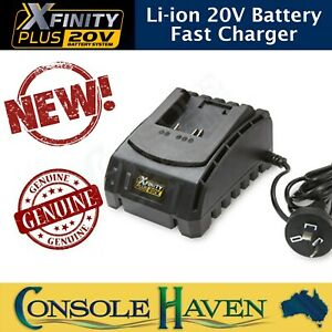 Xfinity Plus Li-ion 20V Fast Battery Charger - Ferrex Workzone Titanium Aldi +