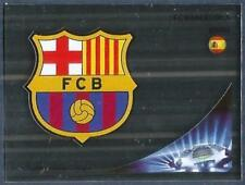 PANINI UEFA CHAMPIONS LEAGUE 2012-13- #444-BARCELONA TEAM BADGE-SILVER FOIL