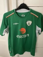 Rep Of Ireland 2004-2006 Home Football Shirt Umbro Jersey Size Medium Boys