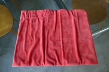 Vintage Leica Red Velvet Counter Display Mat Very Rare Excellent