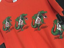 Vtg 70s 80s UF T-Shirt Tag XL Fit M You Can't Hide From Florida Gator Shirt Rare