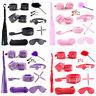 10Pcs Under Bed Bondage Set Restraint Kit Ankle Cuffs Whip System BDSM Toys LQ21