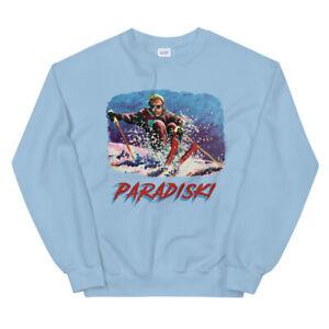 Paradiski, Skiing Shirt, Retro Ski, Skier Gift, Vintage France Sweatshirt