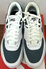 finest selection 7e46d f7e58 Nike Air Max 90 Essential White Armory Blue-Armory Blue 8M US Men s (