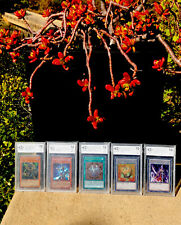 Yu-gi-oh! Cards Lot Of 5 2004-13 Graded Yugioh Bccg BGS 10 Mint Collection PSA?