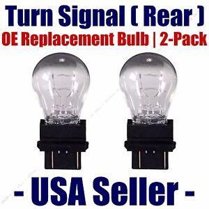 Rear Turn Signal/Blinker Light Bulb 2-pack Fits Listed GMC Vehicles 3047K