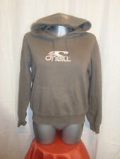 O'NEILL casual surf skate grey cotton graphic hoodie top size M great co