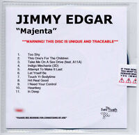 JIMMY EDGAR Majenta UK 11-trk numbered + sealed promo test CD
