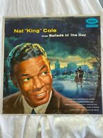 Nat King Cole Sings Ballads Of The Day record lp vinyl