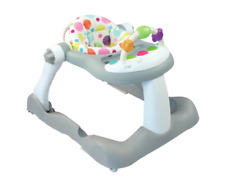 Baby Walker Footsie 3 in 1 Seated Walk-Behind Position, Easy to Fold, Adjustable