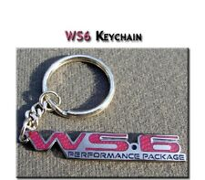 Pontiac Trans Am Red WS6 Performance Package keychain