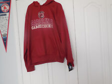 ADULT XXL Colosseum South Carolina Gamecocks Garnet Pullover Hoodie NEW SWEATSHI