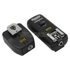 RF602 Wireless Remote Flash Trigger Canon EOS 50D 5Ds R 6D 1D 7D 5D Mark II III