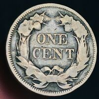 1858 Flying Eagle Cent One Penny 1C Small Letters Civil War Era US Coin CC4273