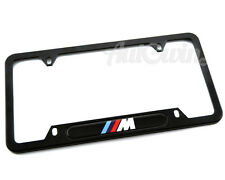 BMW /// M License Plates Frames with ///M Logo USA Standart 1 pcs NEW