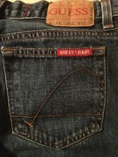 Guess ? Jeans Crop 100% Cotton Medium Wash Women's Size 28 X 25