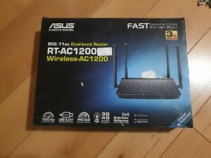 Asus RT-AC1200G+ Dual-band wireless-AC1200 router Gigabit Ethernet ports