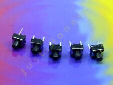Stk. 5x Taktil Schalter (Taster) / Tact Switch Reset Arduino THT PCB  7 mm #A191