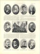 1897 Moor Park FASCIA DI RISPETTO agitazione Benin sopravvissuti disastro