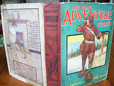 'Hulton's Adventure Stories: An Annual for Boys' (1925)