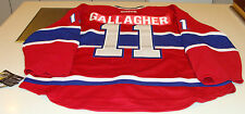 Montreal Canadiens Home Authentic Jersey Reebok Pro Size 52 Brendan Gallagher