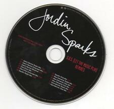 Jordin Sparks S.O.S. (Let the Music Play) 2008 Limited Edition Promo Remixes CD