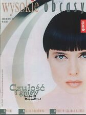 ISABELLA ROSSELLINI  mag.FRONT cover No 26/2003 Poland