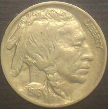 RARE 1916-P BUFFALO NICKEL FULL DATE + FULL HORN HIGH GRADE QUALITY COIN LOOK #2