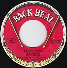 Soul / R&B--Joe Hinton--True Love / I Want A Little Girl