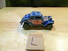 1982 Matchbox 33 Willys Street Rod White Heat Die cast/Plastic 1:50 Scale
