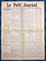 La Une Du Journal Le Petit Journal 29 Janvier 1889 Élection De Boulanger