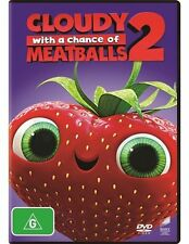 Cloudy With A Chance Of Meatballs 2 (DVD, 2015)