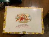 Cigar Box Dominican Republic Paper Intact Used