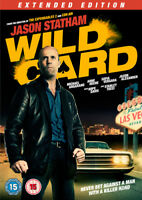 Wild Card: Extended Edition DVD (2015) Jason Statham, West (DIR) cert 15