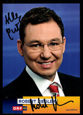 Robert Ziegler ORF Autogrammkarte Original Signiert ## BC 52138