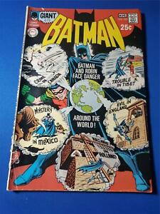 Batman #223 White Pages G/VG