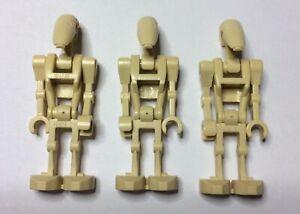 GENUINE LEGO STAR WARS MINIFIGURES - Battle Droids x3 per Sale