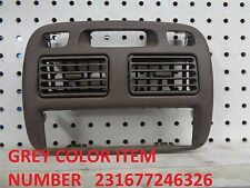 Toyota Corolla 1998 to 2002 all modeles  center vent A/C heater radio cover tan