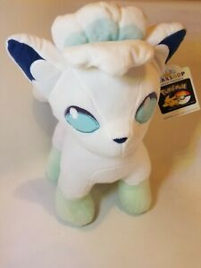 NWT Build A Bear Pokemon  Alolan Vulpix Plush W/ Sound