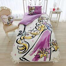 Tangled Rapunzel Disney Princess Bed Pillow Watercolor Art Cover 3 Set Brand New