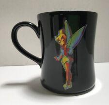 Tinker Bell Black & Green Rainbow Watercolor Sketch Tinker Bell Tea Coffee Mug