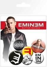 Eminem logos - 6 Ansteck Buttons für Fans