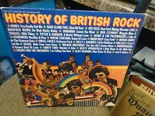 History of British Rock [Kinks Bee Gees Manfred Mann Hollies Troggs] 2x LP VG+