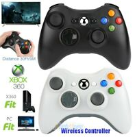 2.4GHz Wireless Game Controller Gamepad for Microsoft XBOX 360 & PC WIN 7 8 10