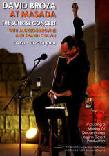 David Broza At Masada - The Sunrise Concert (DVD) Jackson Browne, Shawn Colvin