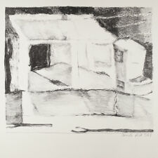 Irmela Röck: Finka in Calpe. Lithographie 1968.