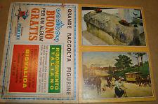 BUONO X ALBUM RISORGIMENTO ITALIANO 1969 GRATIS EDIZIONI PANINI + 2 FIGURINE