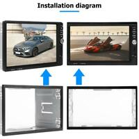 Universal 2Din Fascia Mounting Frame Dash for Car Radio Stereo MP5 DVD Player