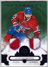 17/18 UD ARTIFACTS ALEX GALCHENYUK #106 PURPLE DUAL PATCH /8 MONTREAL CANADIENS